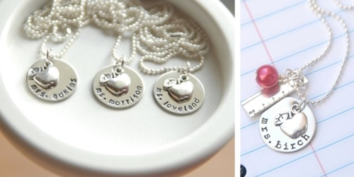 Jane.com: Personalized Teacher Name Necklaces ONLY $10.99 Shipped (Regularly $24.99)