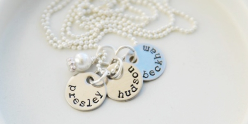 Jane.com: Hand Stamped Name Necklaces Only $12.99 Shipped (Regularly $26.99)