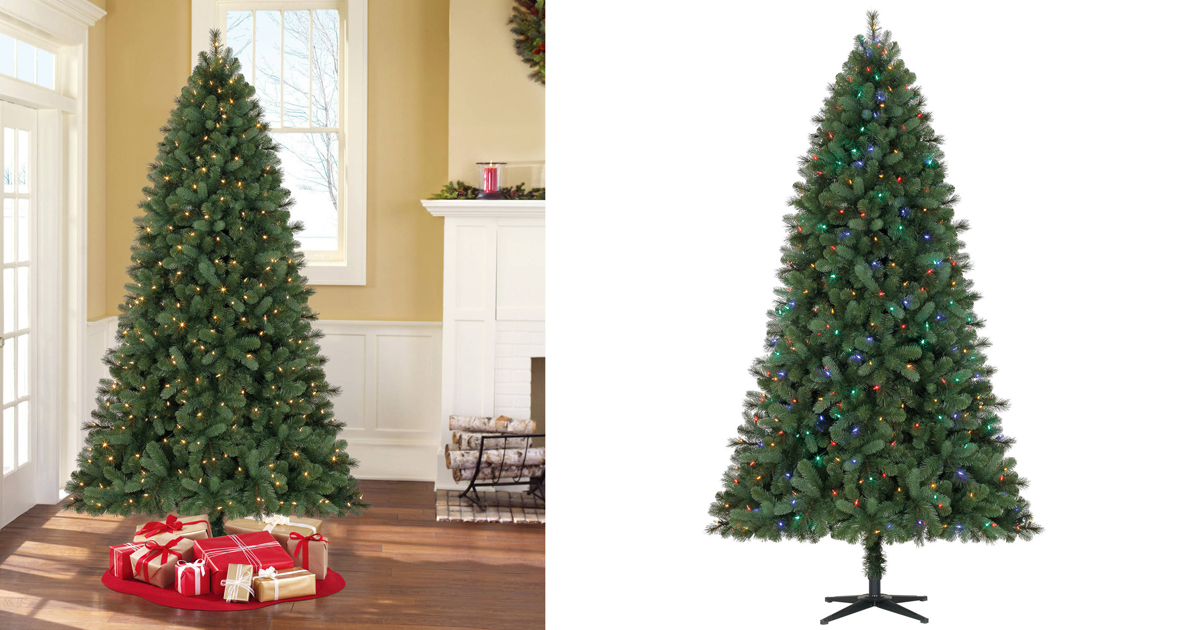 Walmart: Pre-Lit 7.5' Norwich Spruce Christmas Tree W