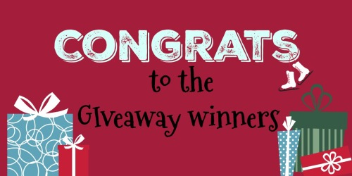 The Black Friday Giveaway Winners Are…..
