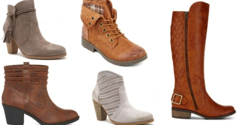 JCPenney Black Friday Deals are LIVE = *HOT* $14.99 Women's Boots, $3.74 Cozy Slippers & More