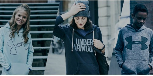 Under Armour: EXTRA 25% off Hoodies, Footwear & More + FREE Shipping