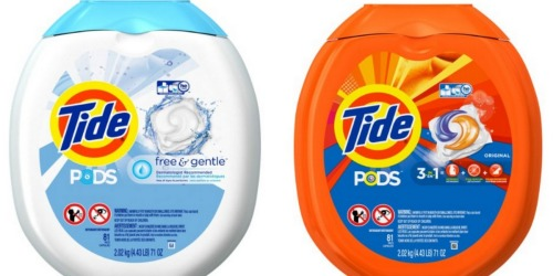 Amazon: Big Savings on Tide PODS, Liquid Laundry Detergent, Stain Pens & More