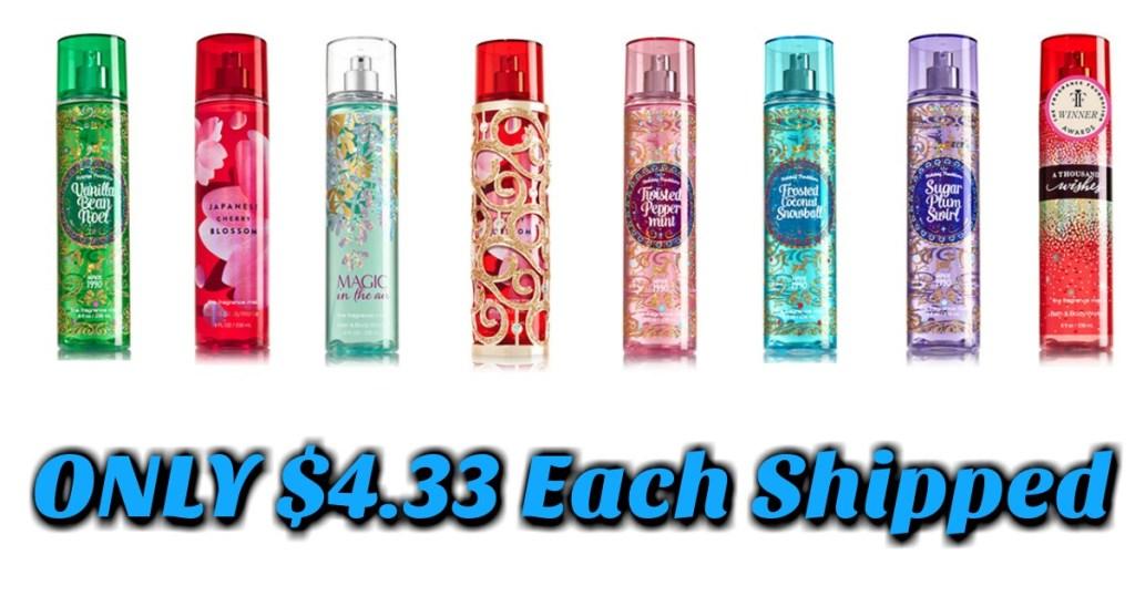 Bath & Body Works Fragrances
