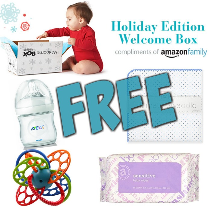 FREE Holiday Edition Welcome Box for Prime Members