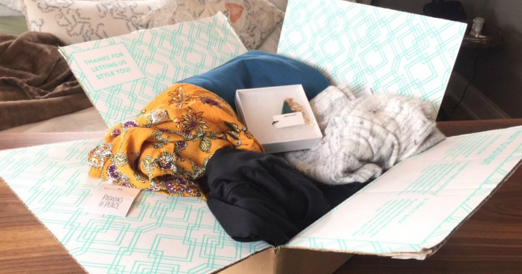 My Stitch Fix Box