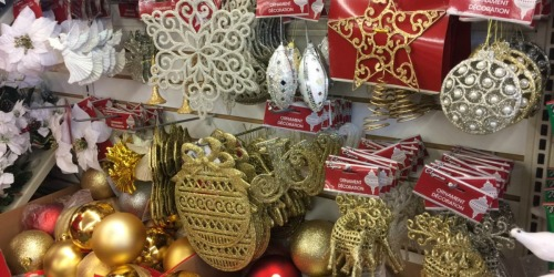 Christmas Decor & Gift-Wrapping Items ONLY $1 at Dollar Tree (SO Many Great Finds!)