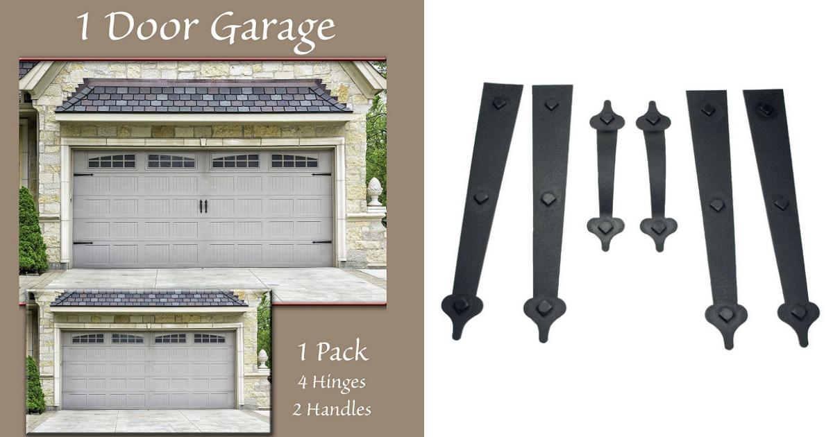 Amazon Magnetic Decorative Garage Door Accents Only 12