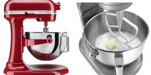 Best Buy: KitchenAid Professional 5-Quart Stand Mixer Only $199.99 Shipped (Regularly $499.99)
