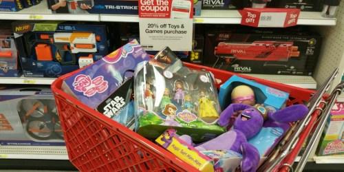 Target: HUGE Savings on Toys (LeapFrog, Waterbabies, Fisher-Price, Star Wars & More)