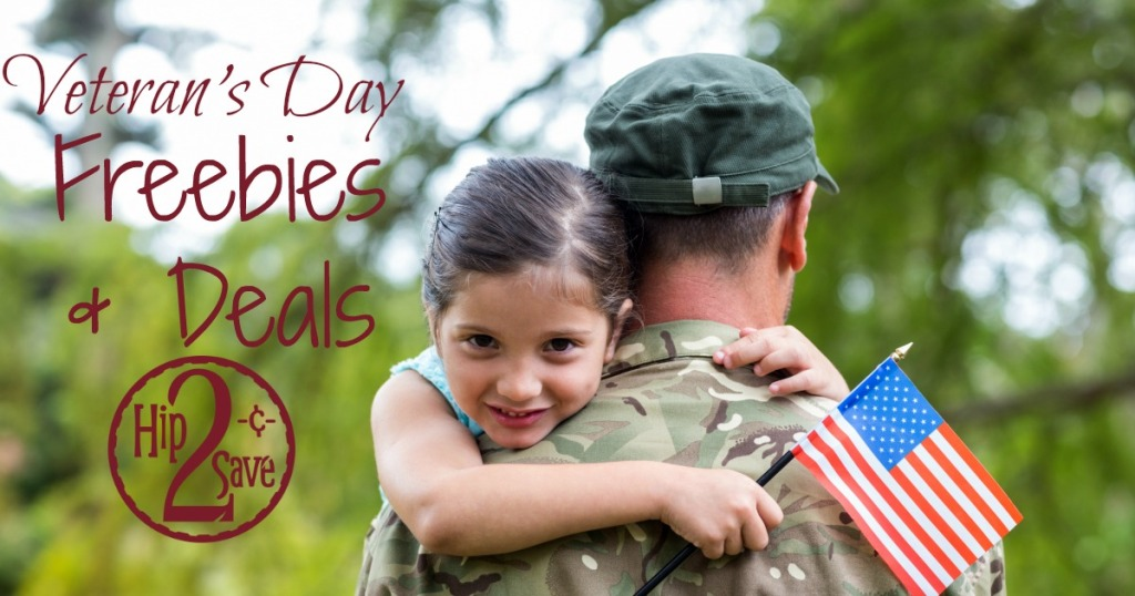 Veteran 39 s day 2016 freebies and deals hip2save for Does olive garden give military discount