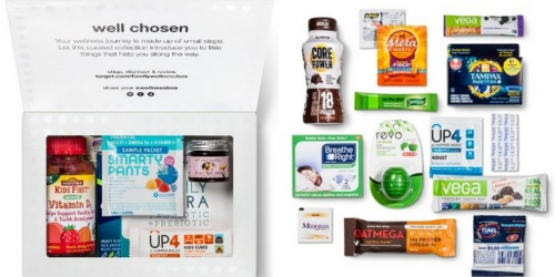 Target: Wellness Boxes Only $9.99 Each Shipped