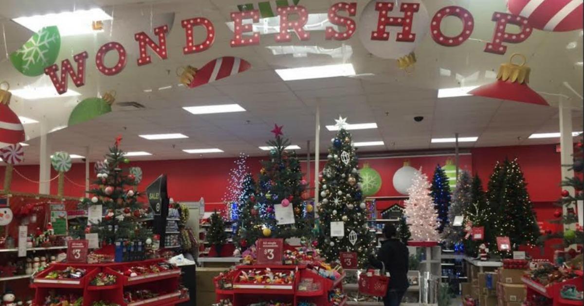 Target 25 Off 75 Wondershop Items Including Christmas
