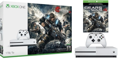 XBox One S Gears Of War 4 Bundle ONLY $269.99 Shipped (Regularly $349)