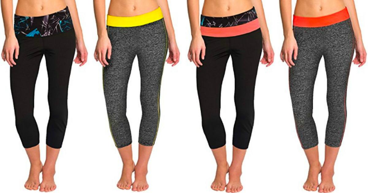 Amazon  Women s Yoga Workout Pants Only  7.72 - Hip2Save a76bb5361971