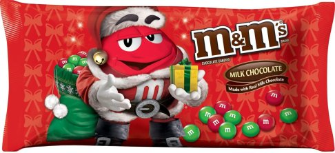 Holiday M&M's