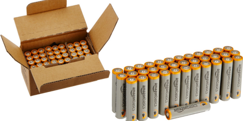 Amazon: AAA Performance Alkaline Batteries 36-Pack Only $6.55 Shipped (Just 18¢ Per Battery)