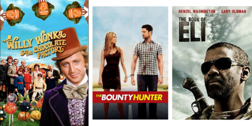 Amazon: Select HD Movie Rentals ONLY 99¢