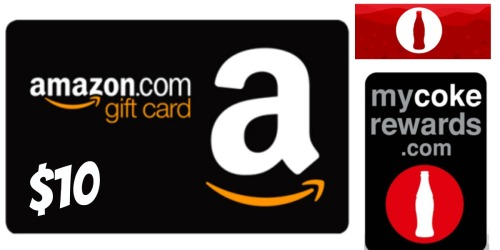 My Coke Rewards: $10 Amazon Gift Card ONLY 170 Points + More