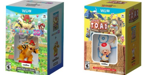 GameStop.com: amiibo Bundles for Wii U Only $19.99 Each (Regularly $39.99)