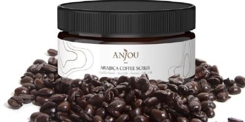 Amazon: Anjou Arabica Coffee Scrub w/ Honey, Sea Salt & Jojoba Oil ONLY $5.99