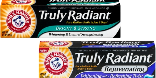 CVS: FREE Arm & Hammer Truly Radiant Toothpaste