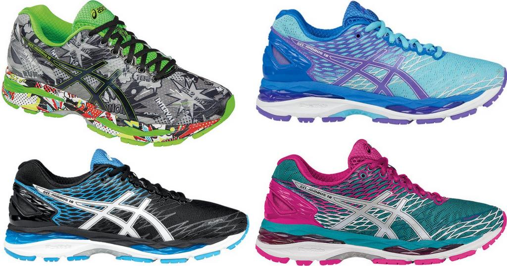 Asics GEL-Nimbus 18 Running Shoes Only