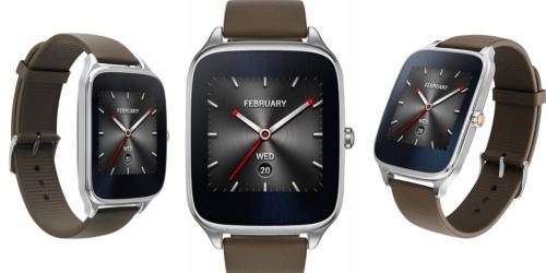 Best Buy: Asus ZenWatch 2 Smartwatch Only $74.99 Shipped w/ Visa Checkout (Regularly $129.99)