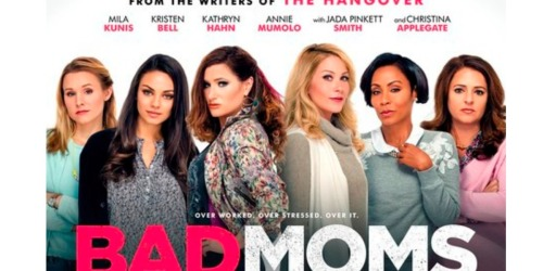 Bad Moms Blu-ray + DVD + Digital HD Bundle Only $14.99 Shipped (Regularly $34.98)