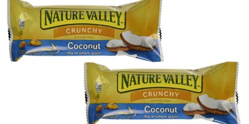Amazon: Nature Valley Coconut Crunchy Granola Bars 6-Count Only $2.22 Shipped