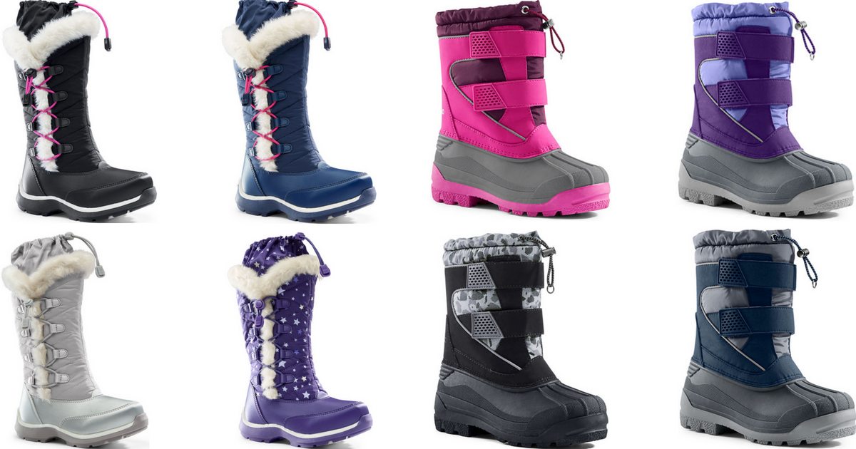 kids snow boots sale