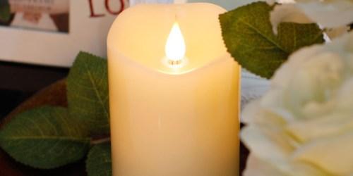 Amazon: 3×5 Flameless LED Candle Only $14.99 (Regularly $24.99)