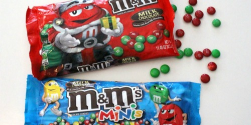 Target: M&M's Holiday Candy Bags Only $1.50 Each