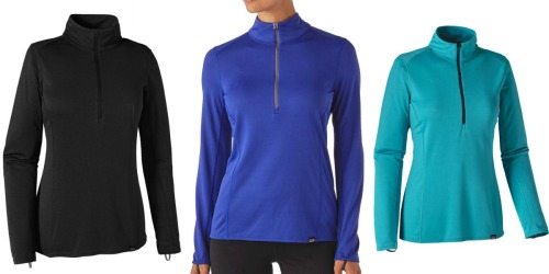 Patagonia.com: Up to 50% Off Select Styles = Women's Zip-Neck Top Only $34 Shipped & More