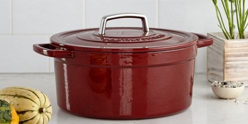 Macy's: Martha Stewart Cast Iron Casserole Dish $39.99 Shipped (After Rebate) – Reg. $179.99