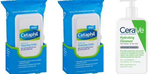 Target.com: Great Deals on Cetaphil & CeraVe Cleansers