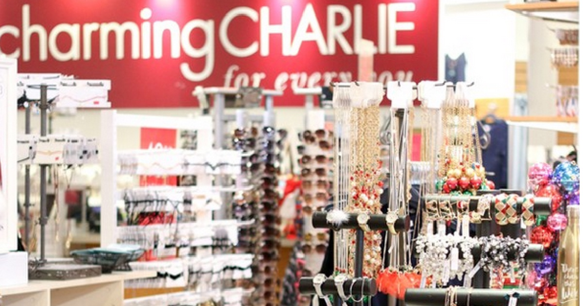Get a FREE $5 Charming Charlie Voucher to Spend In-Store During Your Birthday Month - interior of the store