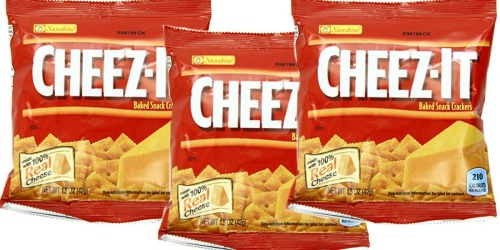Amazon: Cheez-It Crackers 36-Ct Pack Only $7.19 Shipped (+ Nice Deal on San Pellegrino Beverages)