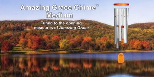 Amazon: Highly Rated Woodstock Inspirational Amazing Grace Chime Only $17.99 (Regularly $31.98)