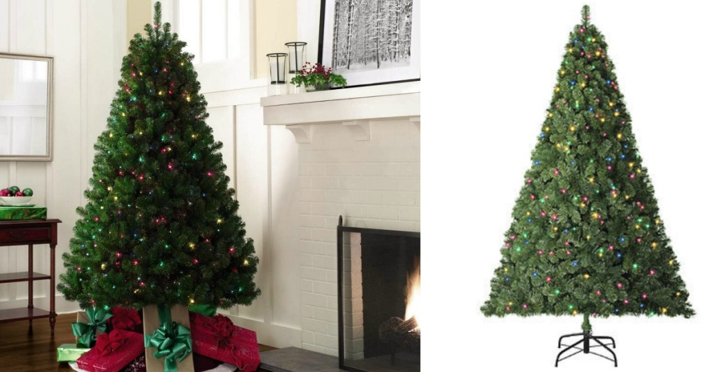 Looking for a deal on an artificial Christmas tree? - Kmart: 6.5 Foot Pre-Lit Van Buren Pine Tree Only $49.99 Shipped