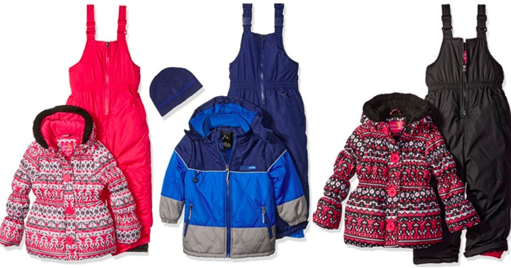 392ec8956 Amazon  Up to 75% Off Winter Coats   Boys and Girls Snow Bibs AND ...