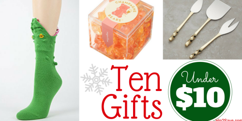 10 Unique Gifts Under $10
