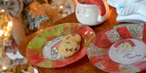 DIY Cookies for Santa Plate (Christmas Kids Craft)