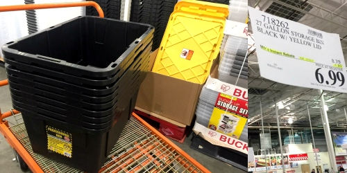 Costco: 27-Gallon Professional Storage Bins Just $6.99 + Women's Patagonia Jackets Only $99.97