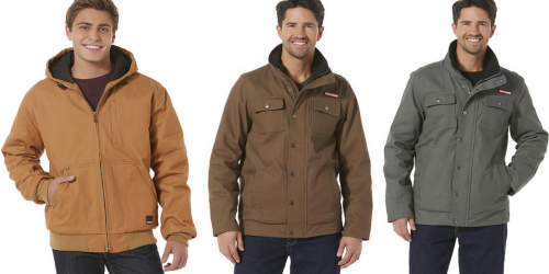 Sears: Craftsman Men's Insulated Hooded Utility Jackets Only $31.99 (Regularly Up To $120)
