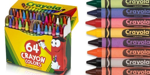 FREE Crayola Crayons 64-Count Pack After Cash Back (NEW TopCashBack Members Only)
