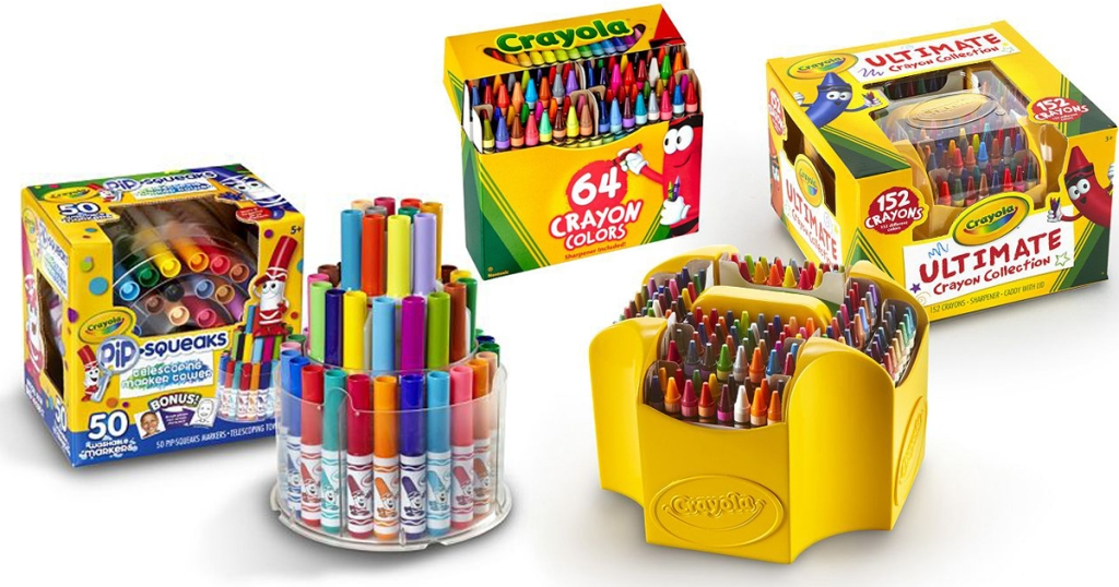 kohl s crayola 152 pack ultimate crayon collection only 9 89