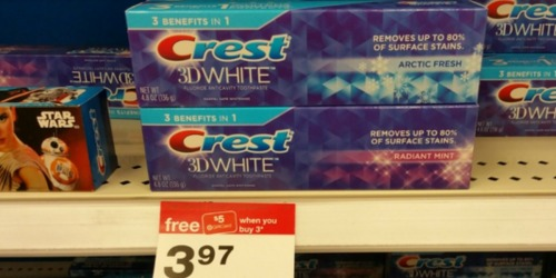 Target: Crest Pro-Health Mouthwash Only 56¢ Each (After Gift Card) + More