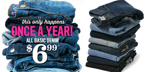 The Children's Place: ALL Basic Denim Just $6.99 (In-Store Only) or Just $7.99 Shipped Online