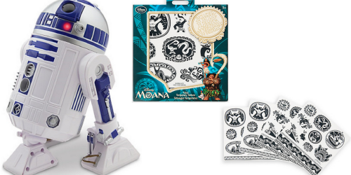 Disney Store: HOT R2-D2 Star Wars Figure + Moana Tattoos ONLY $19.33 Shipped